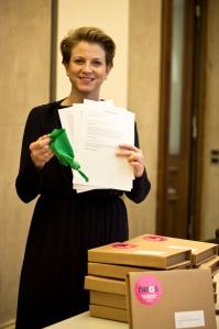 Grüne Wahlrecht Taschentuch