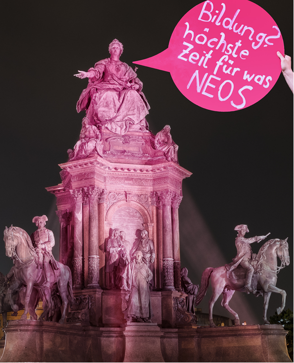 Plan Pink – Wien als Pionierregion für die mündige Schule